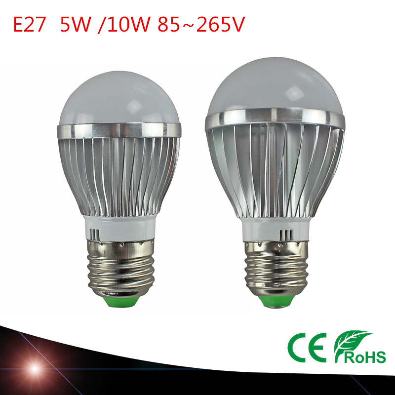 LED Lamp E27 5W 10W SMD5730 LED Bulb Light 110v 220v LED Lighting High Quality Warm/White(China (Mainland))