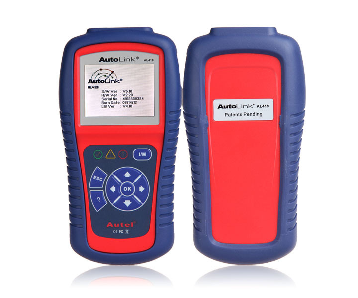 Autel AutoLink AL419 OBD II & CAN Code Reader AL 419 Free Online Update with Troubleshooter code tips Car Diagnostic Scan Tool(China (Mainland))