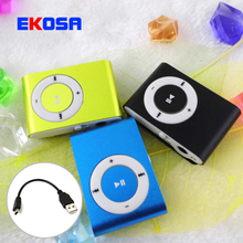Free Ship High Quality MINI Clip MP3 Player With Micro TF/SD Card Slot sports mini MP3 Music Player + USB Cable(China (Mainland))