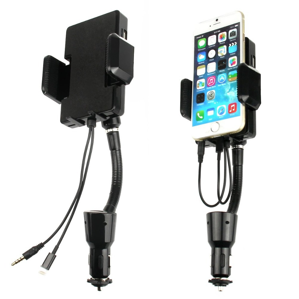 Universal Adjustable 360 Car Mount Holder Charger Remote