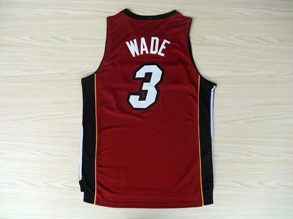Miami #3 Dwyane Wade Jersey Basketball Jersey Stitched Logo New Material Rev 30 Sports Jerseys Basketball Shirt(China (Mainland))