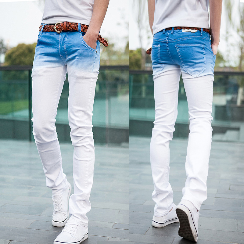 Images of Men Skinny White Jeans - Reikian