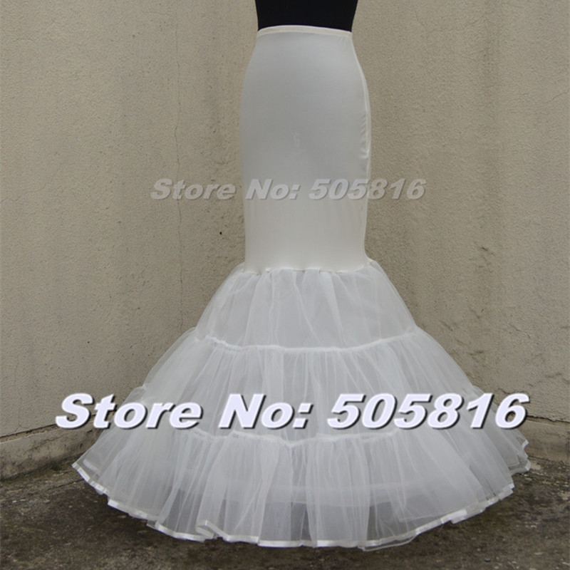 Online buy wholesale mermaid crinoline slip from china for Mermaid slip for wedding dress
