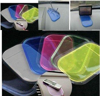 Free shipping,20pcs/lot Non Anti-Slip Slip Mat Car Sticky Pad For phone mp3 Magic 5 Colors