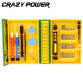 CRAZY POWER 38 in1 Multi purpose Precision Magnetic Hand Screwdriver Set Household Hand Tool Set for