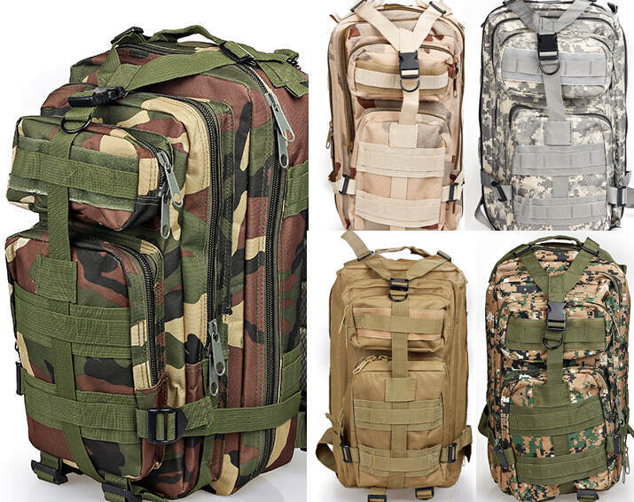 2015 Molle Tactical Assault Outdoor Military Rucksacks Backpack Camping Bag mochila Large Hiking - YIWU Global Trade store