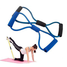 Excellent quality 39cm Fitness Resistance Bands Resistance Rope Exerciese Tubes Elastic Exercise Bands for Yoga Pilates Workout