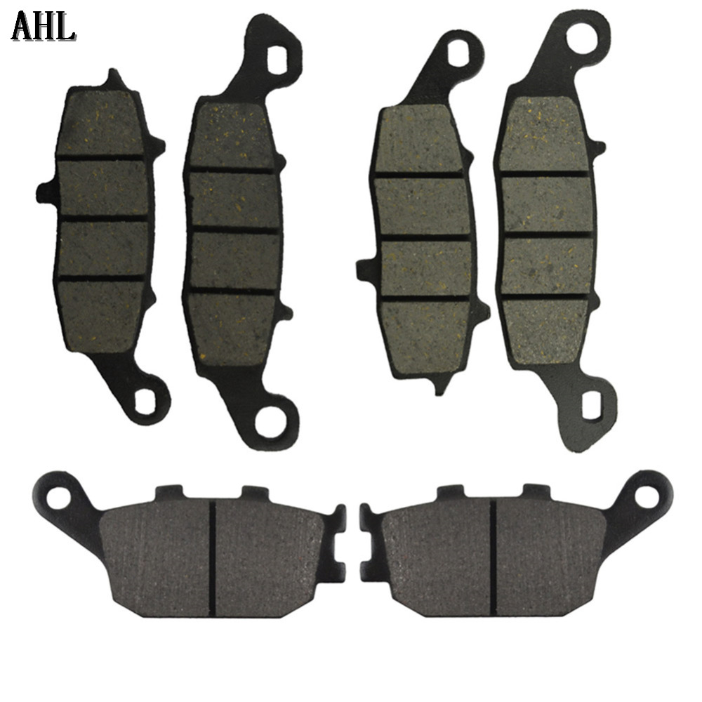 Motorcycle Front and Rear Brake Pads for Suzuki SV650 DL650 2004-2011 V-strom 1000 DL1000 2002-2011(China (Mainland))