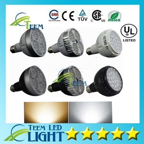 DHL Ultra Bright PAR30 Led bulb spotlight 85-265V 24W 30W 36W E27 par 30 38 LED Lighting Spot Lamp down light downlight lighting(China (Mainland))