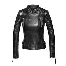 Leather Jackets Women Motorcycle 2015 New Fashion Slim PU Women's Winter Outwear Biker Jackaet Coat jaqueta de couro feminina(China (Mainland))