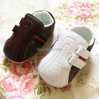 New Arrival 3 Pairs/Lot Fashion white baby shoes casual cotton high quality children's pre walker shoes new born shoes 2215