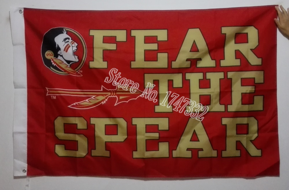 Florida State University NCAA Flag hot sell goods 3X5FT 150X90CM Banner brass metal holes FS6(China (Mainland))