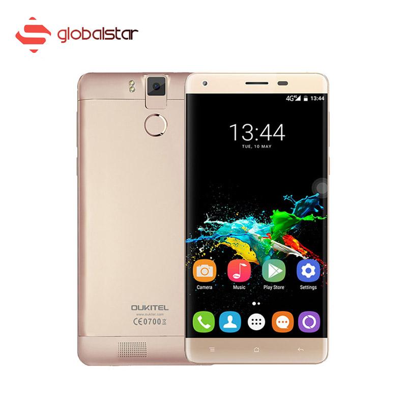 "5.5"" Oukitel K6000 Pro MTK6753 Octa Core Smartphone 3G RAM +32G ROM FHD 13MP Dual SIM Cellphone 6000mAh 4G LTE Mobile Phone(China (Mainland))"