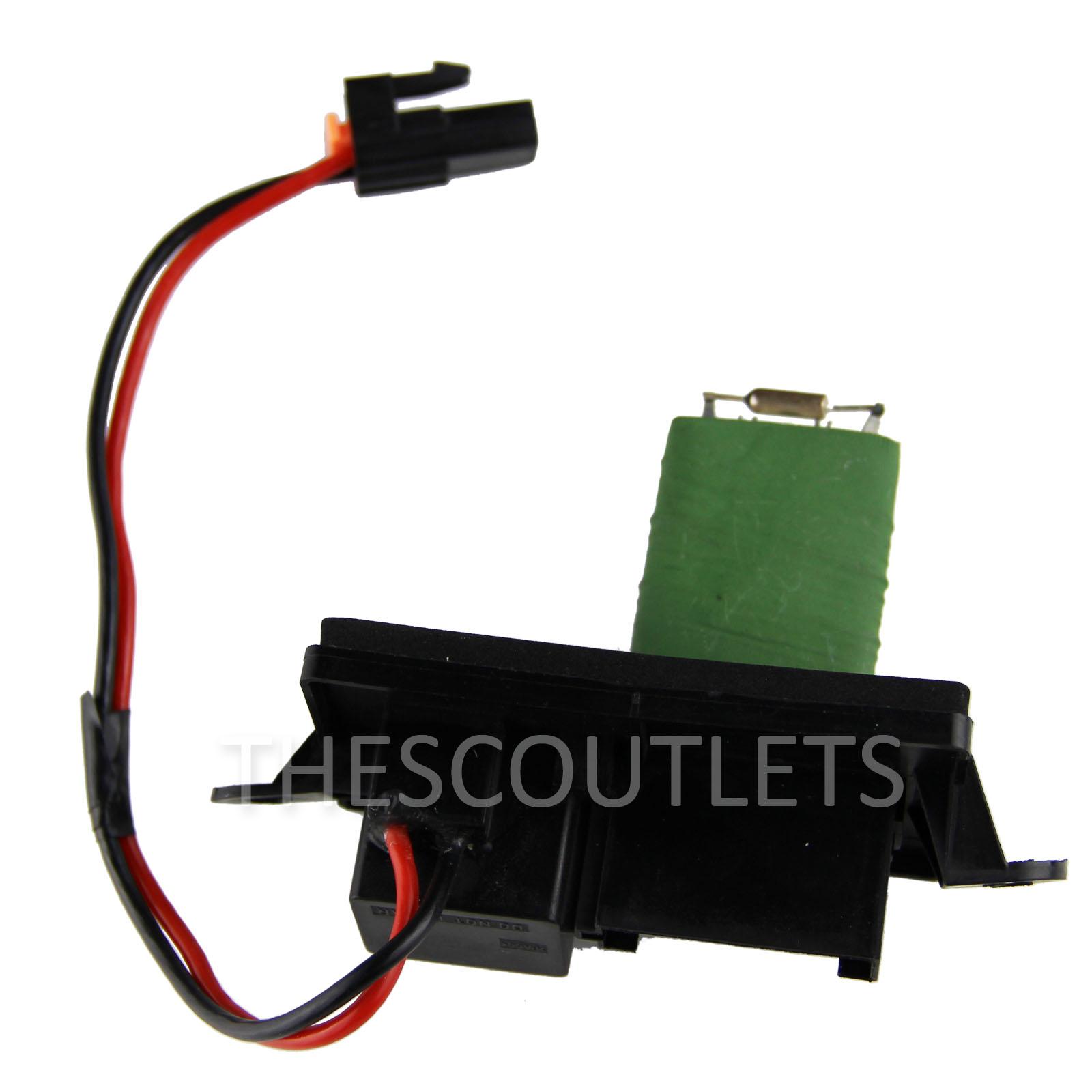 Blower motor regulator resistor for tahoe 89019089 hvac for Hvac blower motor resistor