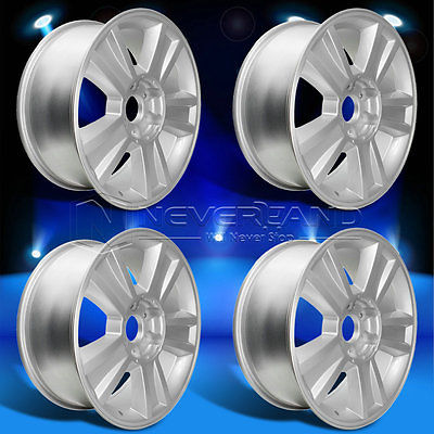 Hot 4PC/Set 20''x 8.5'' Alloy Car Wheels Rim Silver Fit For Chevrolet Silverado Texas +31 offset USA Stock Free Shipping(China (Mainland))