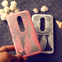 Rubberized Painted Phone Cases For Motoroal Moto G3 G 3nd Gen. G+3 XT1541 Covers Plumage Anti- Scratch Plastic Durable Shell