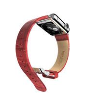Marca HOCO rojo extravagantes Ithr correa de cuero correa para Apple reloj del deporte del reloj banda para Apple iWatch Band 38 mm / 42 mm