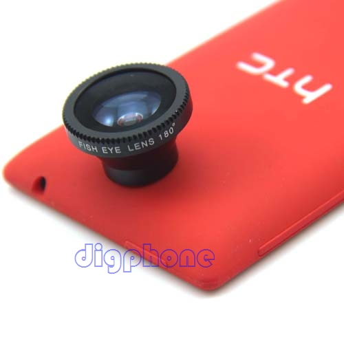 fish eye Lens for HTC one X S V M7 M8 MAX mini desire 200 300 310 500 501 601 610 700 816 butterfly S droid DNA