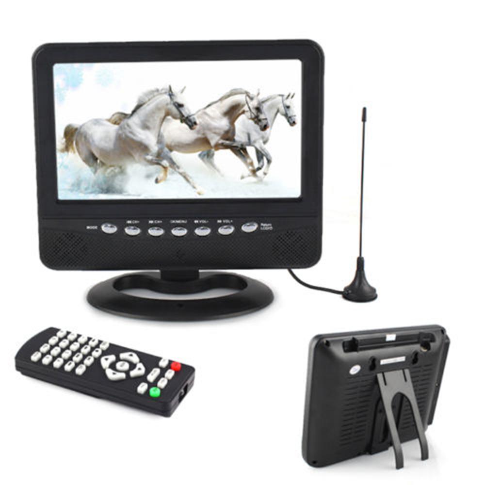 EU 2016  Black New 7 inch Portable LCD Analog TV FM MP3 USB  Reader Digital Mobile TV  hot new<br><br>Aliexpress