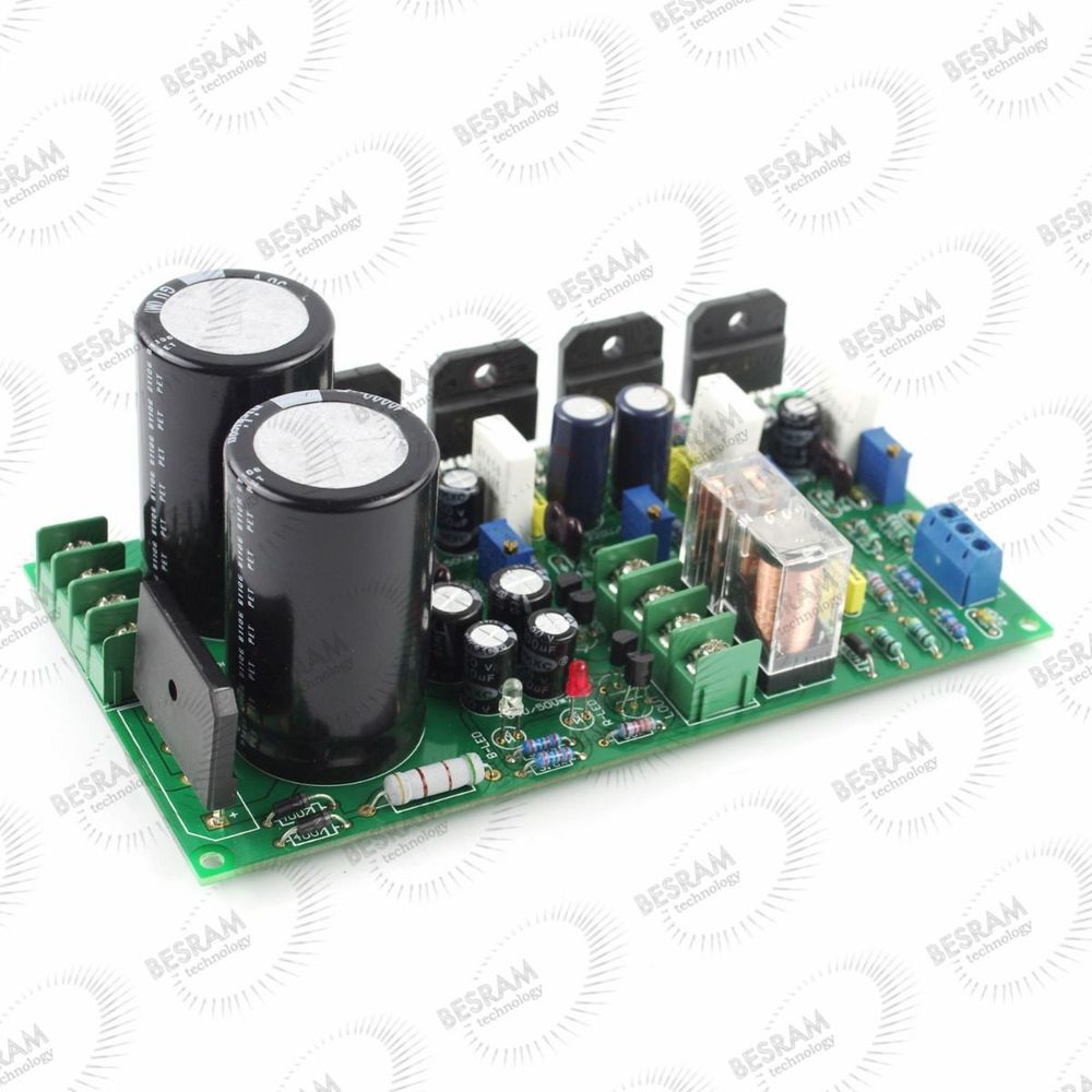 Power Amplifier finished Board LM3886*4 2.0 100W/Mono200W for Rowland circuit<br><br>Aliexpress