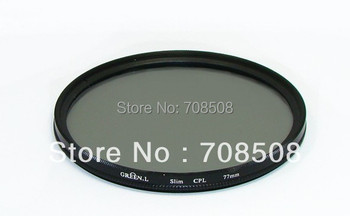 [Free shipping + tracking number] GREEN.L 55mm CPL Circular Polarizing Filter for canon/nikon/sony