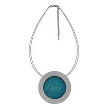 Top Quality Fashion Necklaces Necklace Set Blue&Yellow Enamel Pendants(China (Mainland))