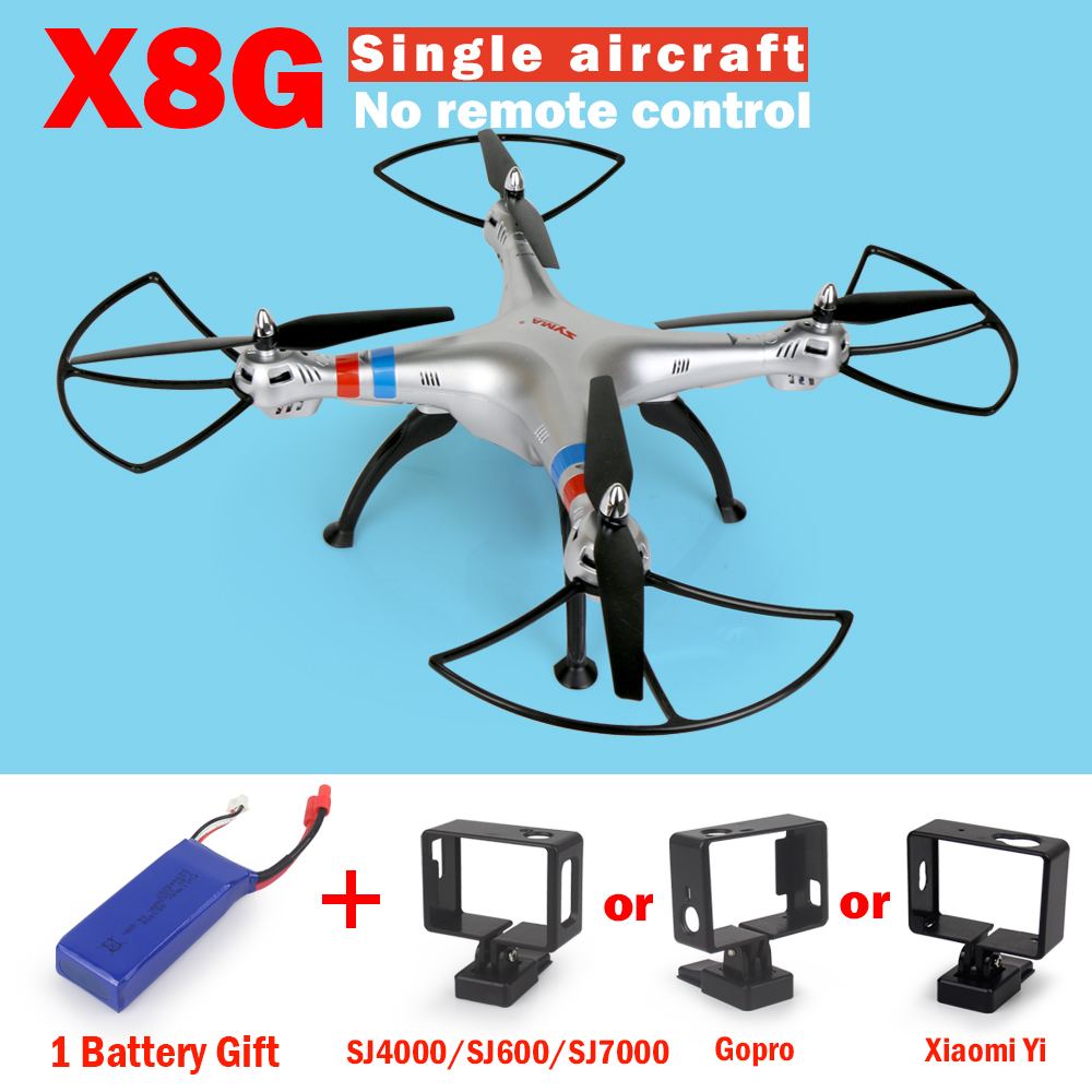 SYMA X8 X8G RC Drone NO Camera or NO Camera Remote 6-Axis RC Helicopter Quadcopter Can Fit Gopro or Xiaoyi Camera VS Syma X8HG(China (Mainland))