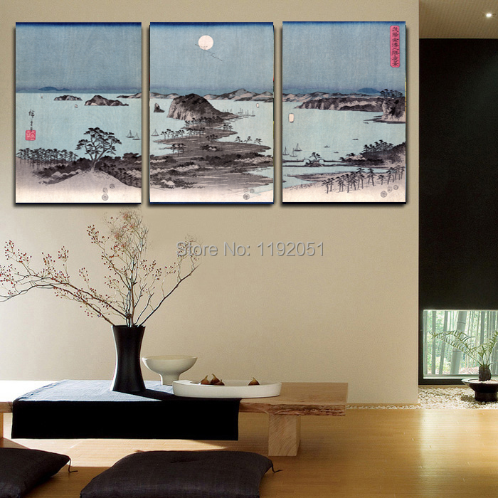 w wholesale traditional japanese painting