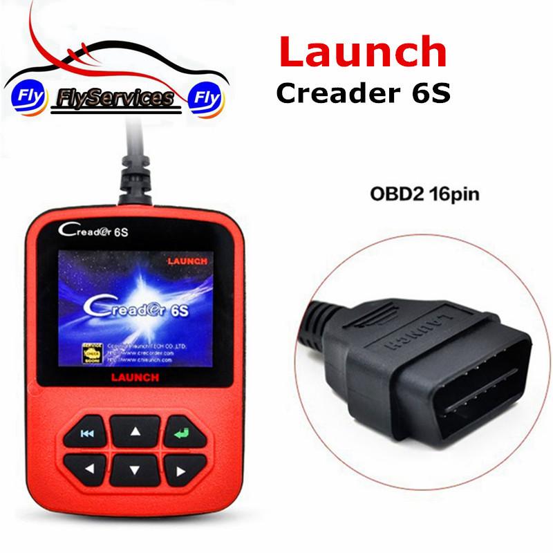 100% Original Launch X431 Creader 6 Plus Code Reader Launch Creader 6S OBD2 Scanner European & American Version High Quality(China (Mainland))