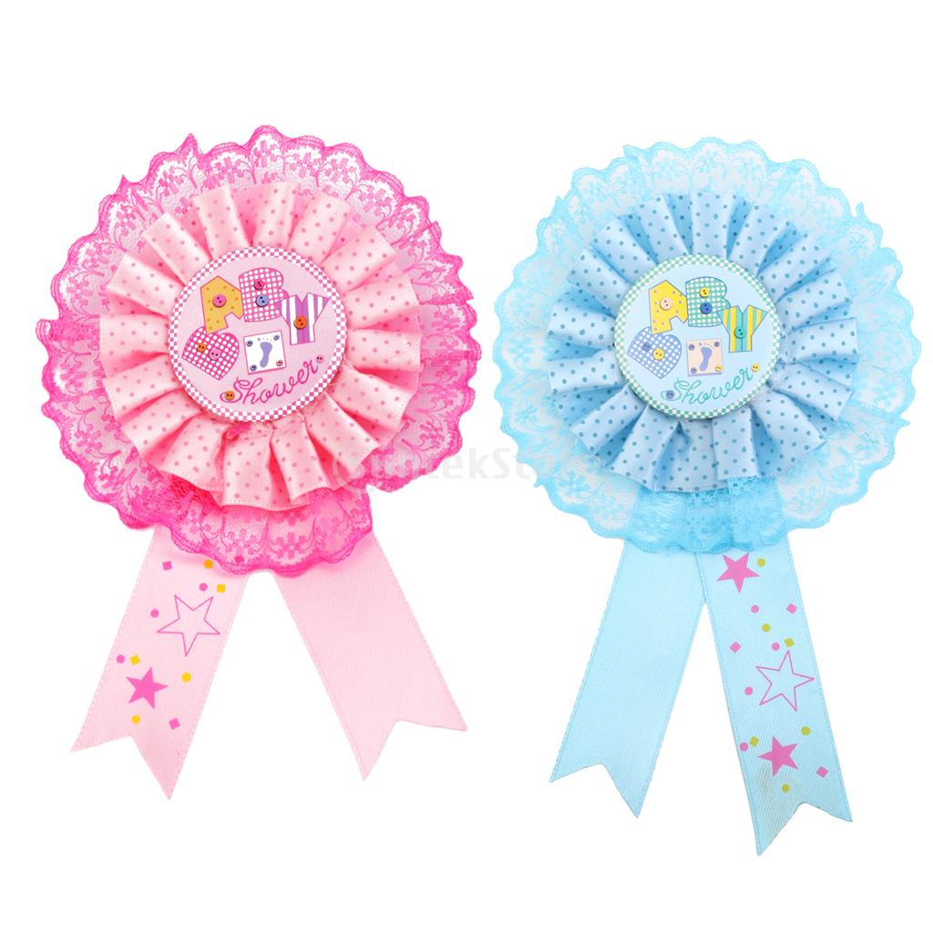 spmart baby shower award ribbon badge party favor decoration free