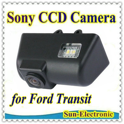 SONY CCD Sensor car rear view license / number plate reverse Parking Back up Camera for Ford Transit(China (Mainland))
