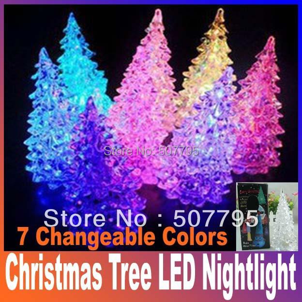 Рождественские украшения Oem Nightllight 7 led Christmas Tree рождественские украшения oem 20