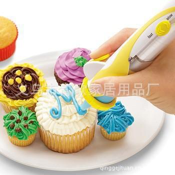 YoHere Kitchen Cake Tools Electronic Frosting Cake Decorating Pen Set Cake Cookie Dessert Decorators(China (Mainland))
