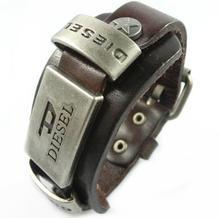 Cool fashion bracelet for men women leather bracelets & bangles mens bijuterias jewerly punk wristbands aliexpress(China (Mainland))