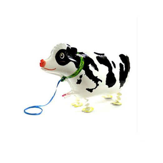 Hot Selling Dairy Cow Cartoon Balloon Birthday Party Balloon Promotions Air Worker Animal Balloon Foil Balloon Kids Toys(China (Mainland))