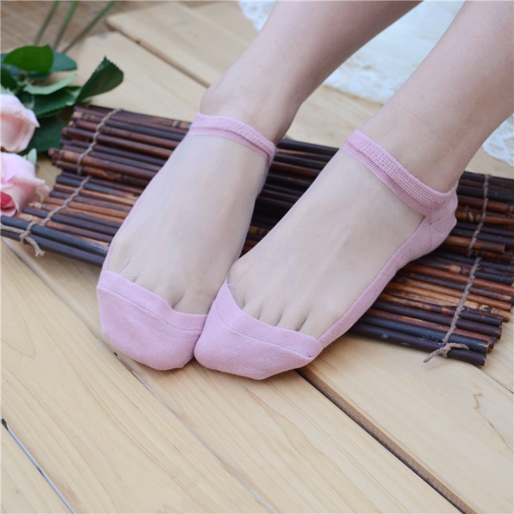 2015 Quilhas Surf Surfboard Fins Sup Department Of Thin Female Socks Glass Yarn Stitching Cotton Stockings Over Shallow Mouth(China (Mainland))