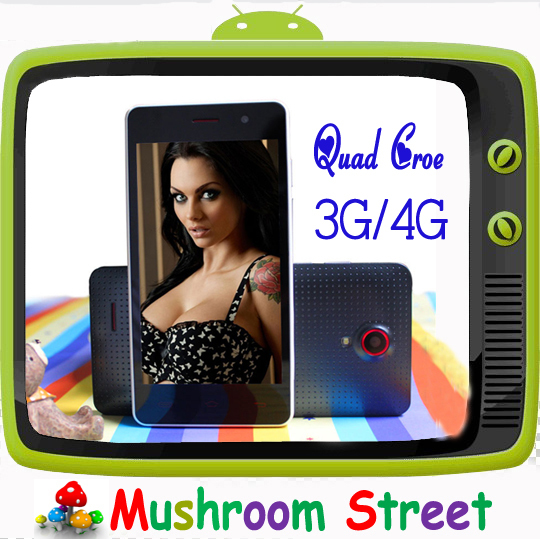 SANTIN 4.5 inch IPS 2G/3G/4G Network STB4G SIMx1 MTK6582 4GB+1GB 1.3GHZ GPS Quad Core S820 Android Phone - Mushroom Street store
