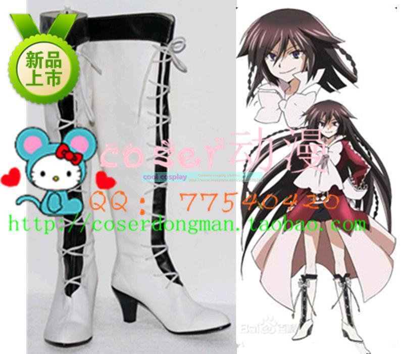 Pandora Hearts Alice Cosplay Shoes Boots Custom Made 662 black-and-white double layer cosplay shoes anime cosplay shoesОдежда и ак�е��уары<br><br><br>Aliexpress