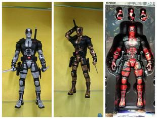 X-men Sliver Deadpool Loose Action Figure Collection Model Toy 3 Color 10 25CM MM080<br><br>Aliexpress