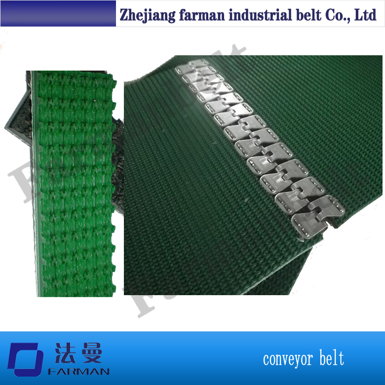 Fastener Splice Rough Top Conveyor Belt(China (Mainland))