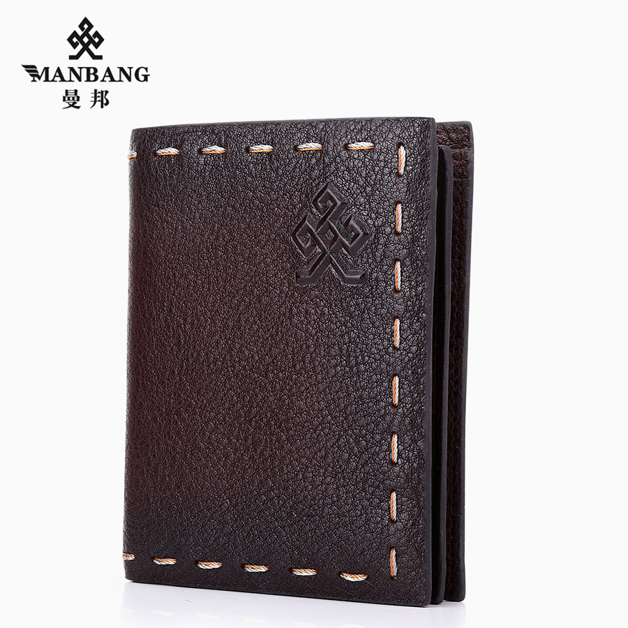 80 percent off young men mambang original card package short head layer cowhide leather wallet card wallet wallet.<br><br>Aliexpress