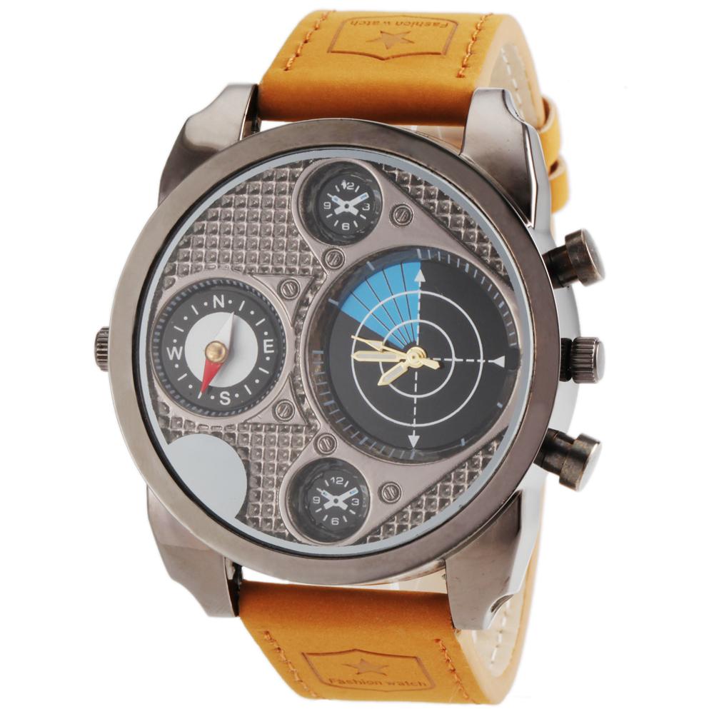 2014 DZ design new fashion luxury brands DZ sports watch, DZ7193 mens quartz watch, leather military watch Relogios<br><br>Aliexpress
