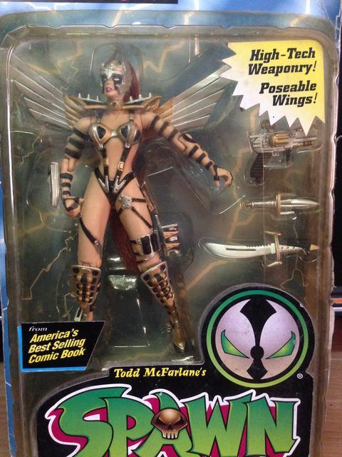 High-Tech Weaponry Wings Spawn cosmic Angela Anime action figure classic toys for boy in original box SP0073