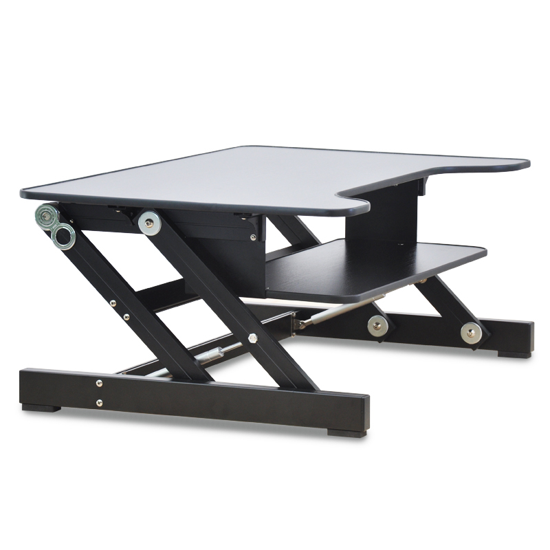 Foldable laptop table laptop desk ergonomic adjustable height with