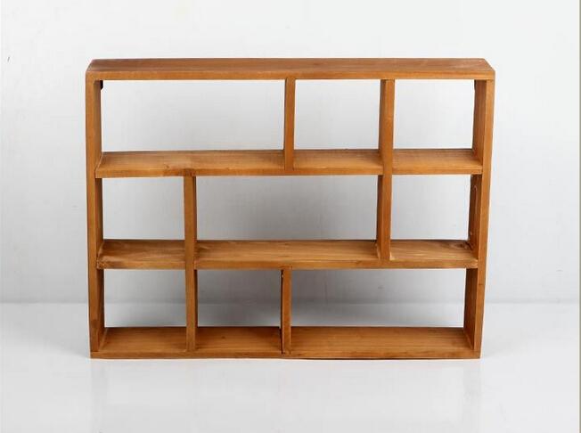 acheter creux en bois tag re murale titulaires et des supports de stockage de. Black Bedroom Furniture Sets. Home Design Ideas