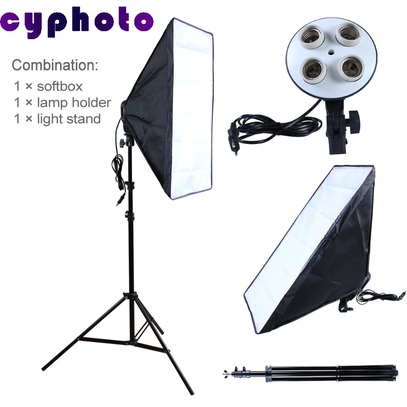 NEW photographic lighting 4 Socket Lamp with 20