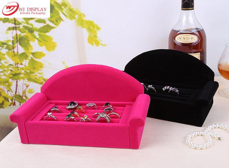 Superior BlackRose Red Velvet Sofa Jewelry Ring Display  : Superior Black Rose Red Velvet Sofa Jewelry Ring Display Tray Case Box Organizer Earrings Stands Holder from www.aliexpress.com size 750 x 550 jpeg 46kB