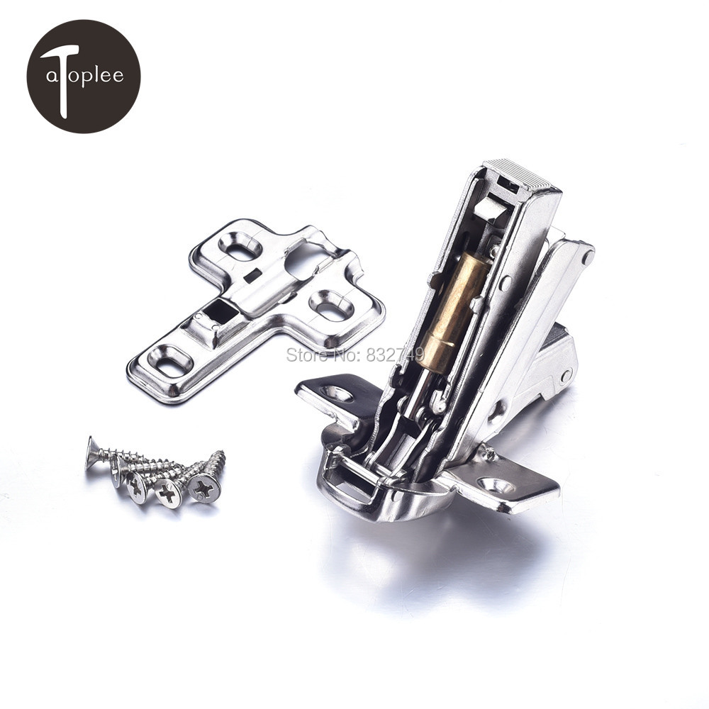 1 PCS Cross CRS Door Hinge With 5 Screws For Folding Door Hinges Angle of 165 Degrees Hydraulic Damper Buffering Hinge(China (Mainland))