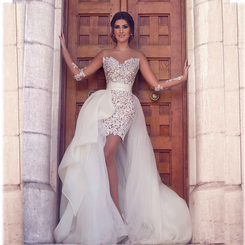 online buy wholesale wedding dress with dentelle with long sleeves from china wedding dress with. Black Bedroom Furniture Sets. Home Design Ideas