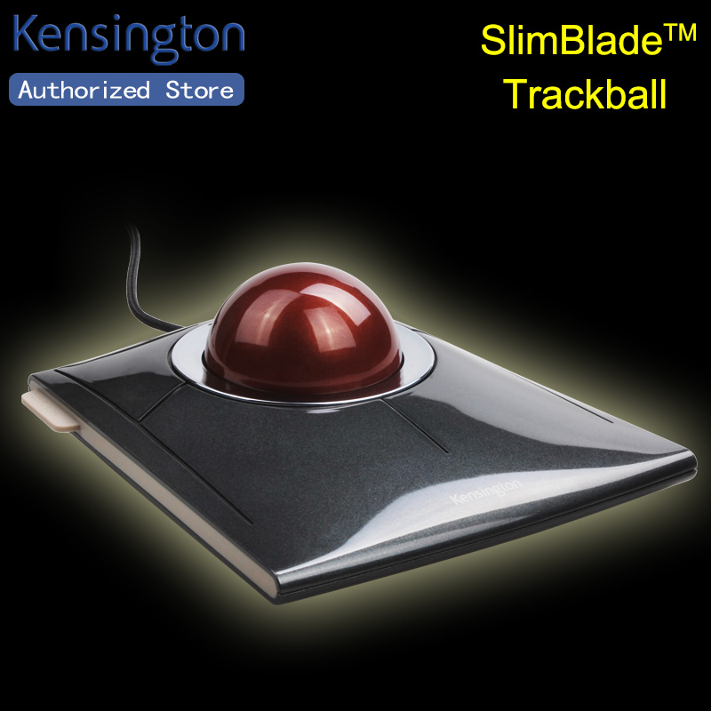Kensington Original SlimBlade Laser Trackball USB Mouse for PC or Mac with Large Ball with Retail Packaging K72327(China (Mainland))